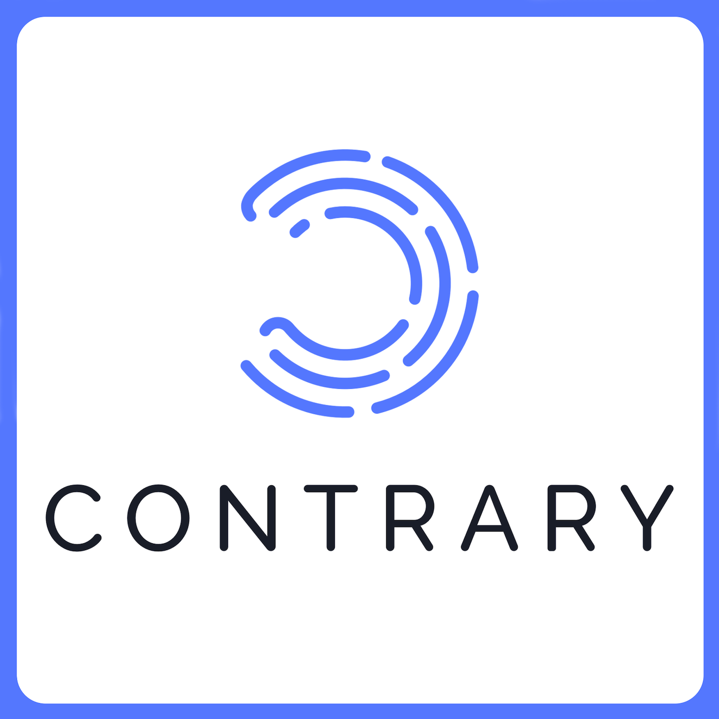 Podcast Cover of Contrary Radio