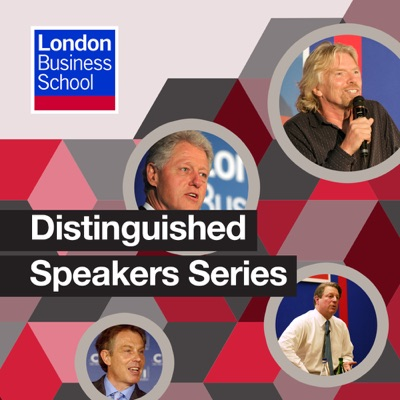 Podcast Cover of Distinguished Speakers Series