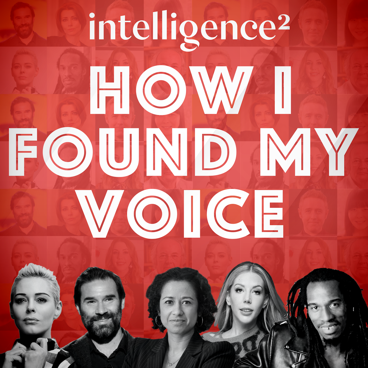 Podcast Cover of How I Found My Voice