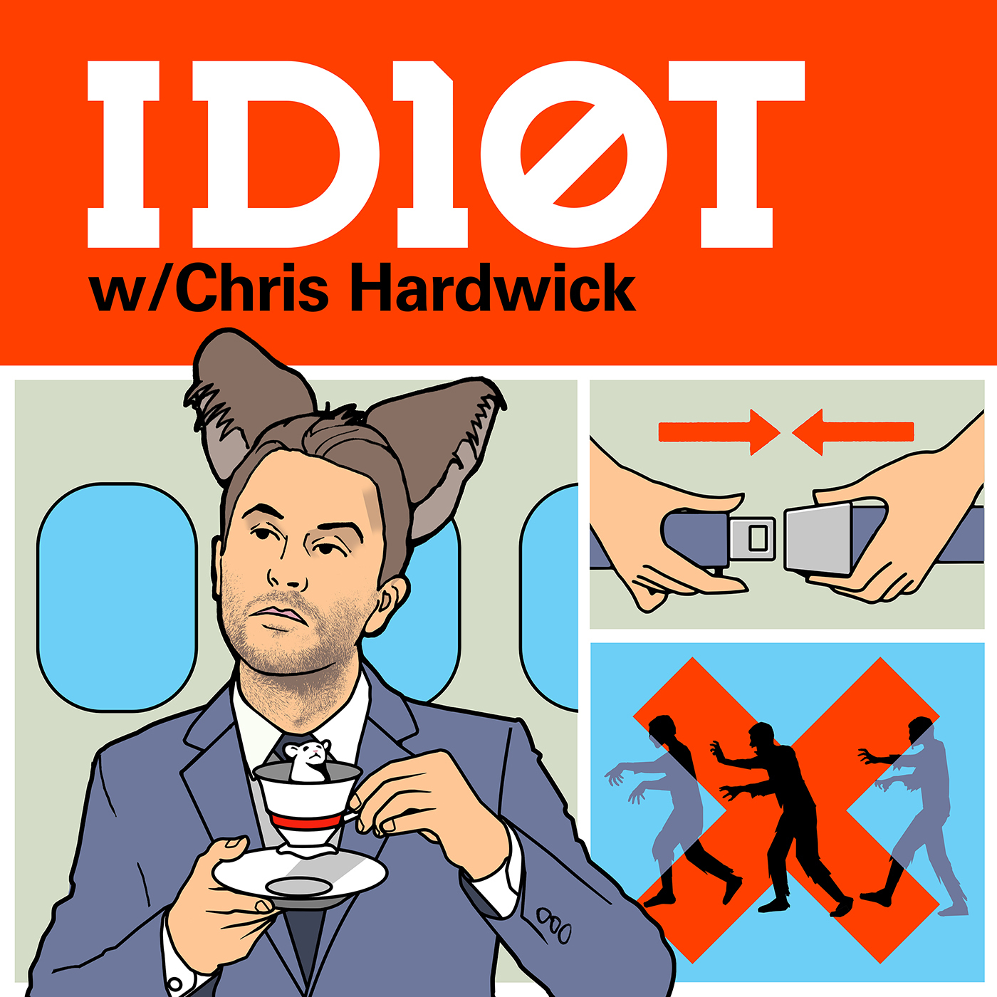 Podcast Cover of ID10T with Chris Hardwick