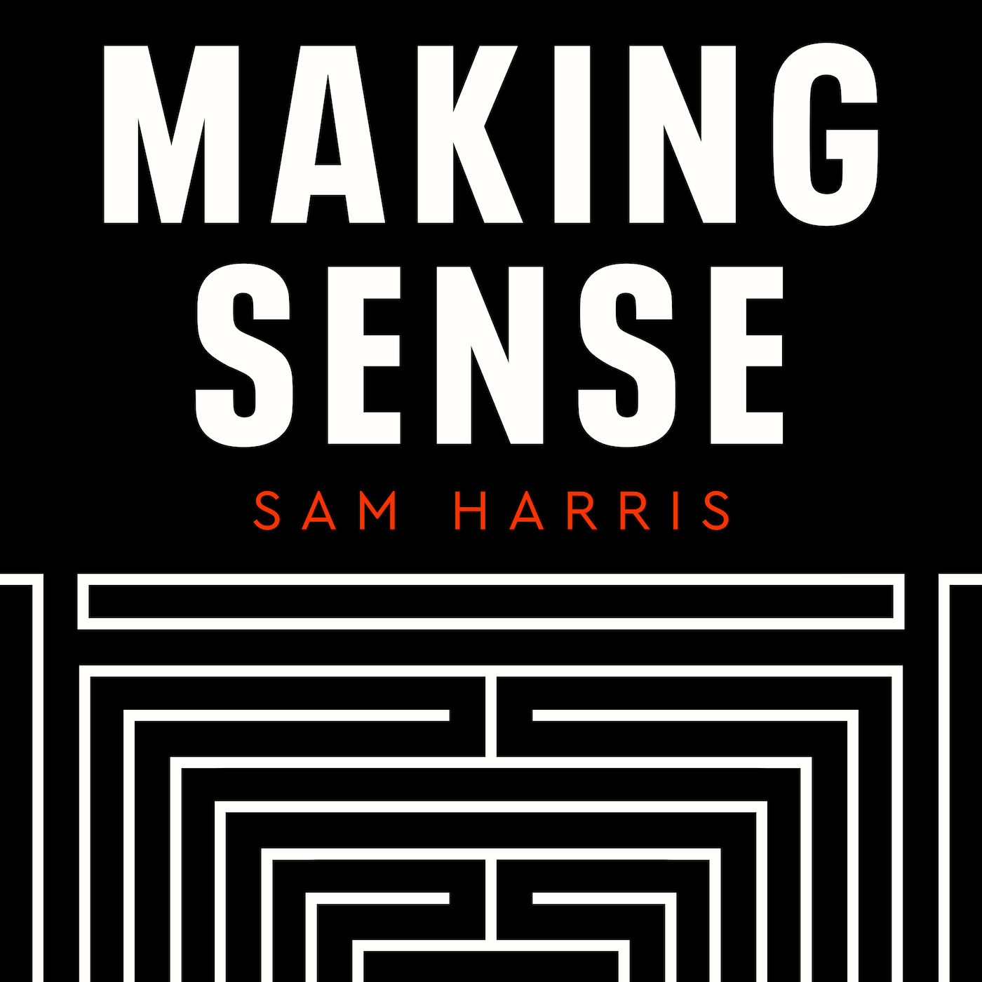 Podcast Cover of Making Sense with Sam Harris