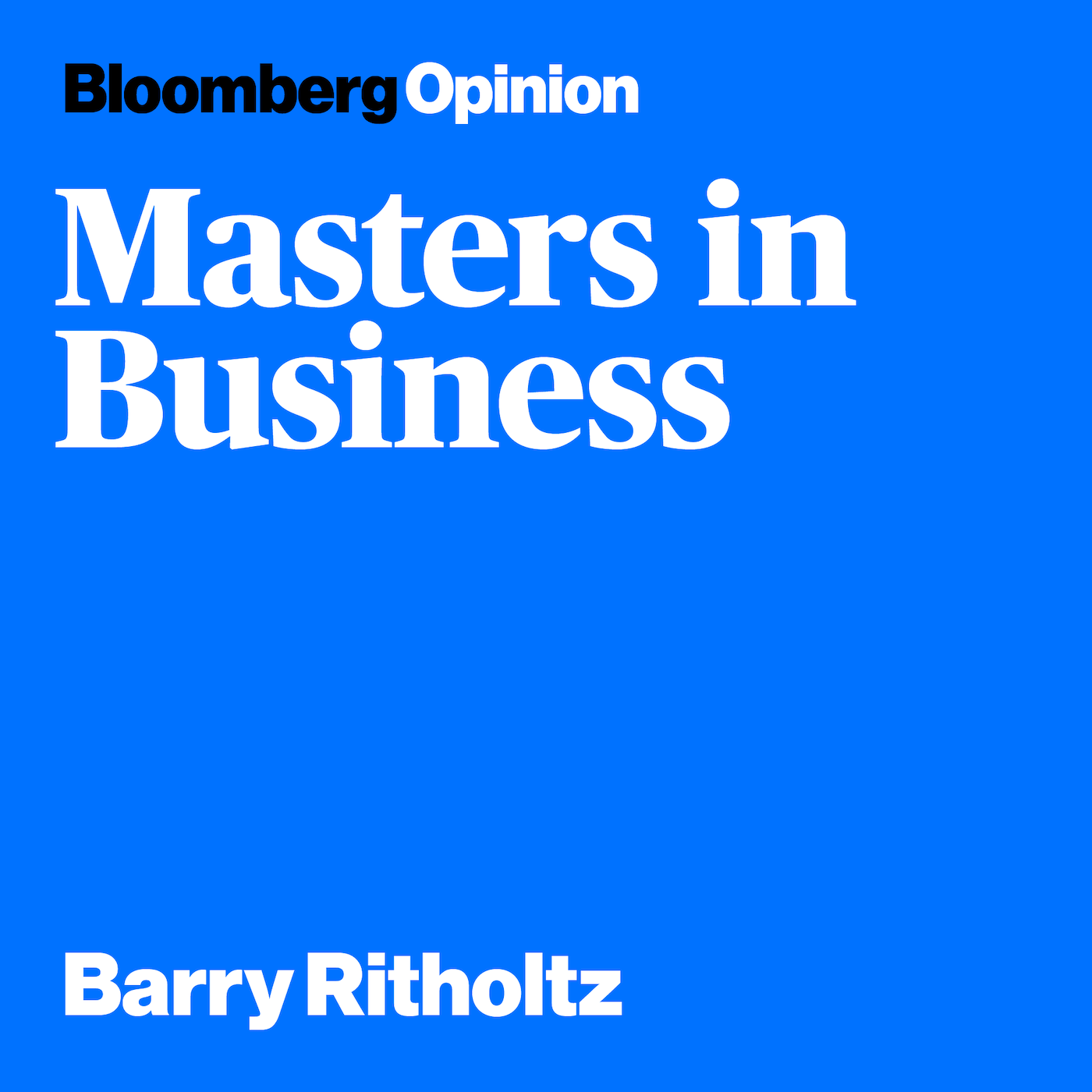Podcast Cover of Masters in Business