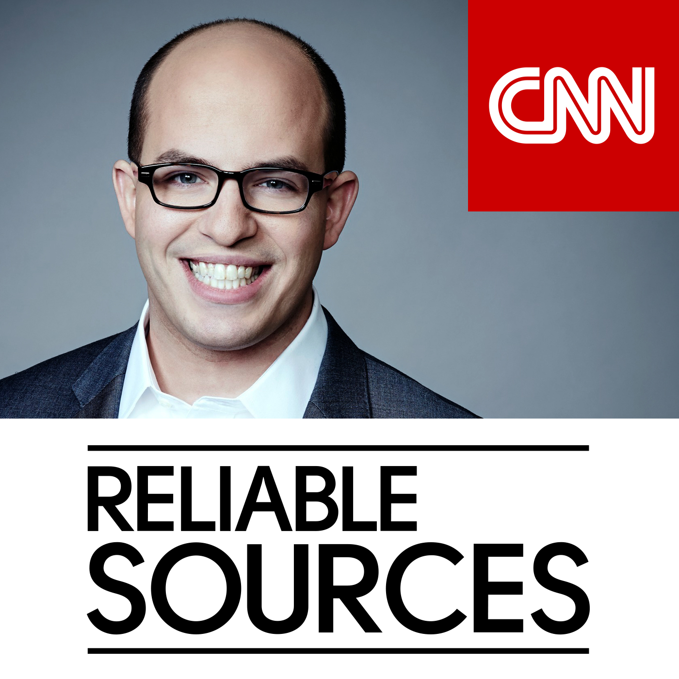 Podcast Cover of Reliable Sources with Brian Stelter