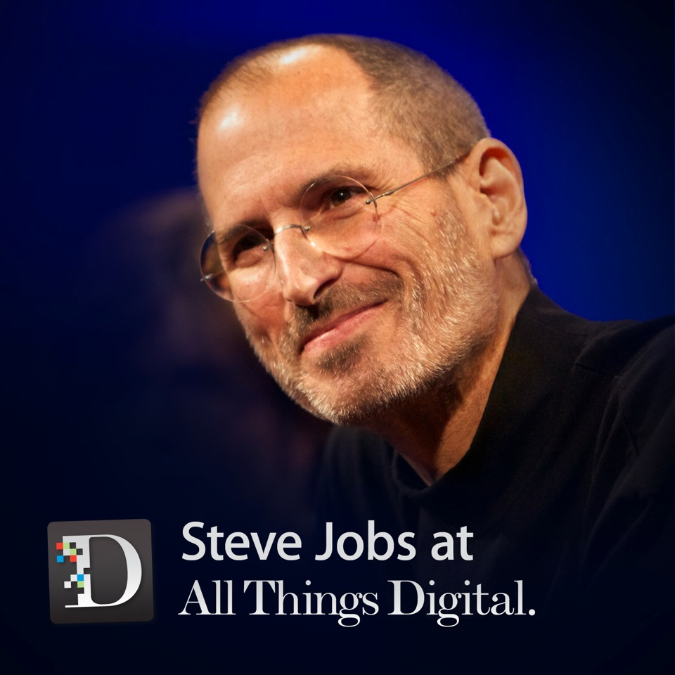 Podcast Cover of Steve Jobs at the D: All Things Digital Conference (Audio)