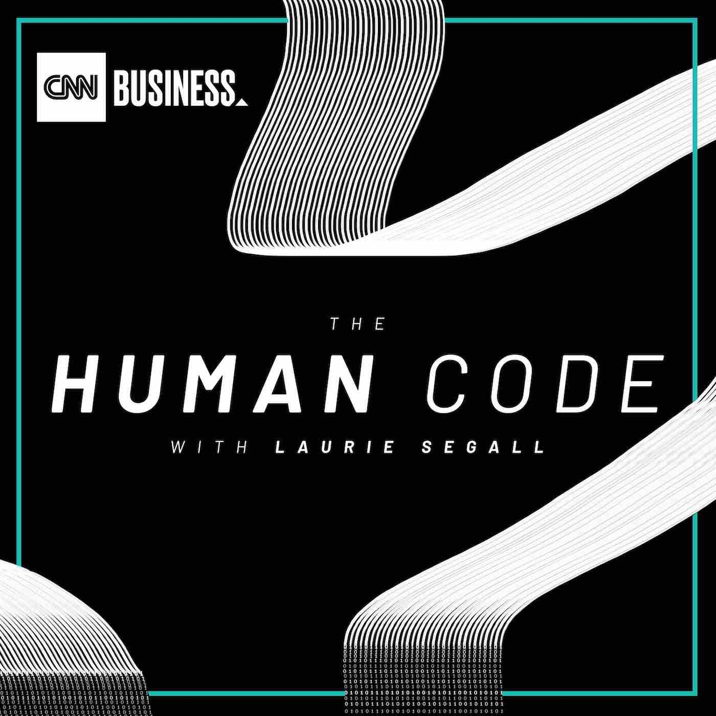 Podcast Cover of The Human Code with Laurie Segall