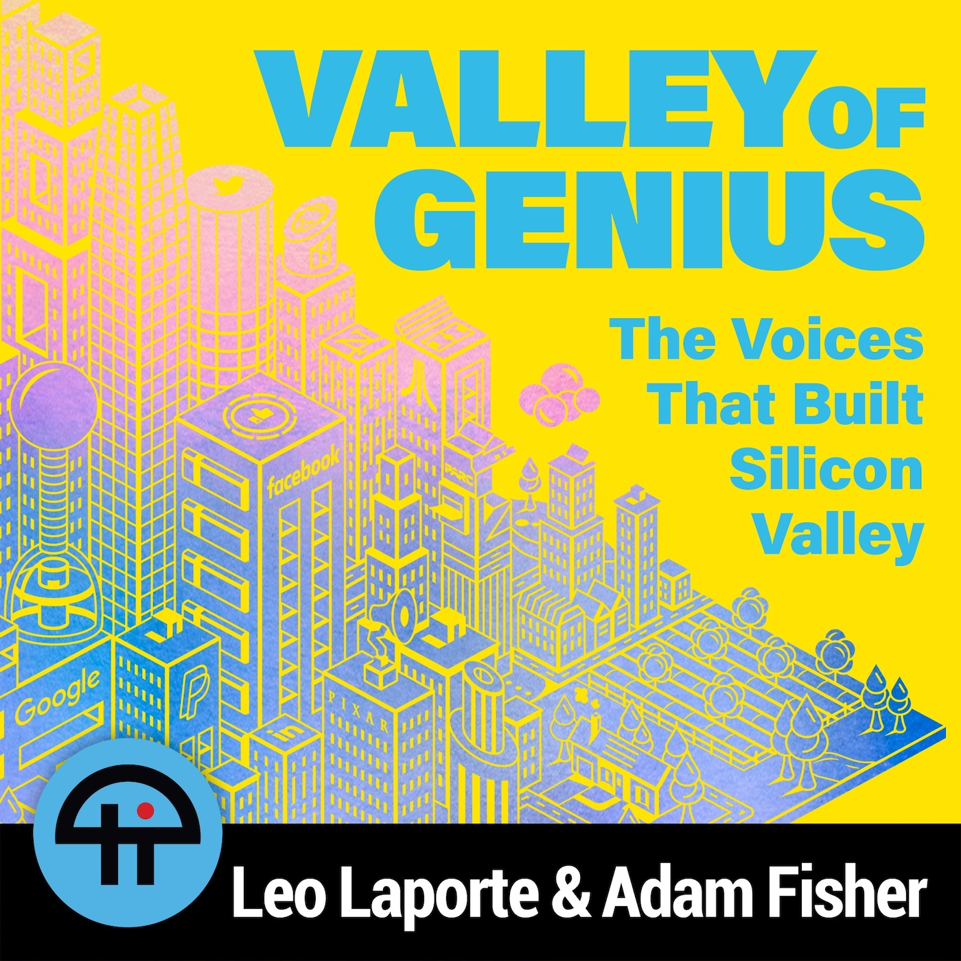Podcast Cover of Valley of Genius