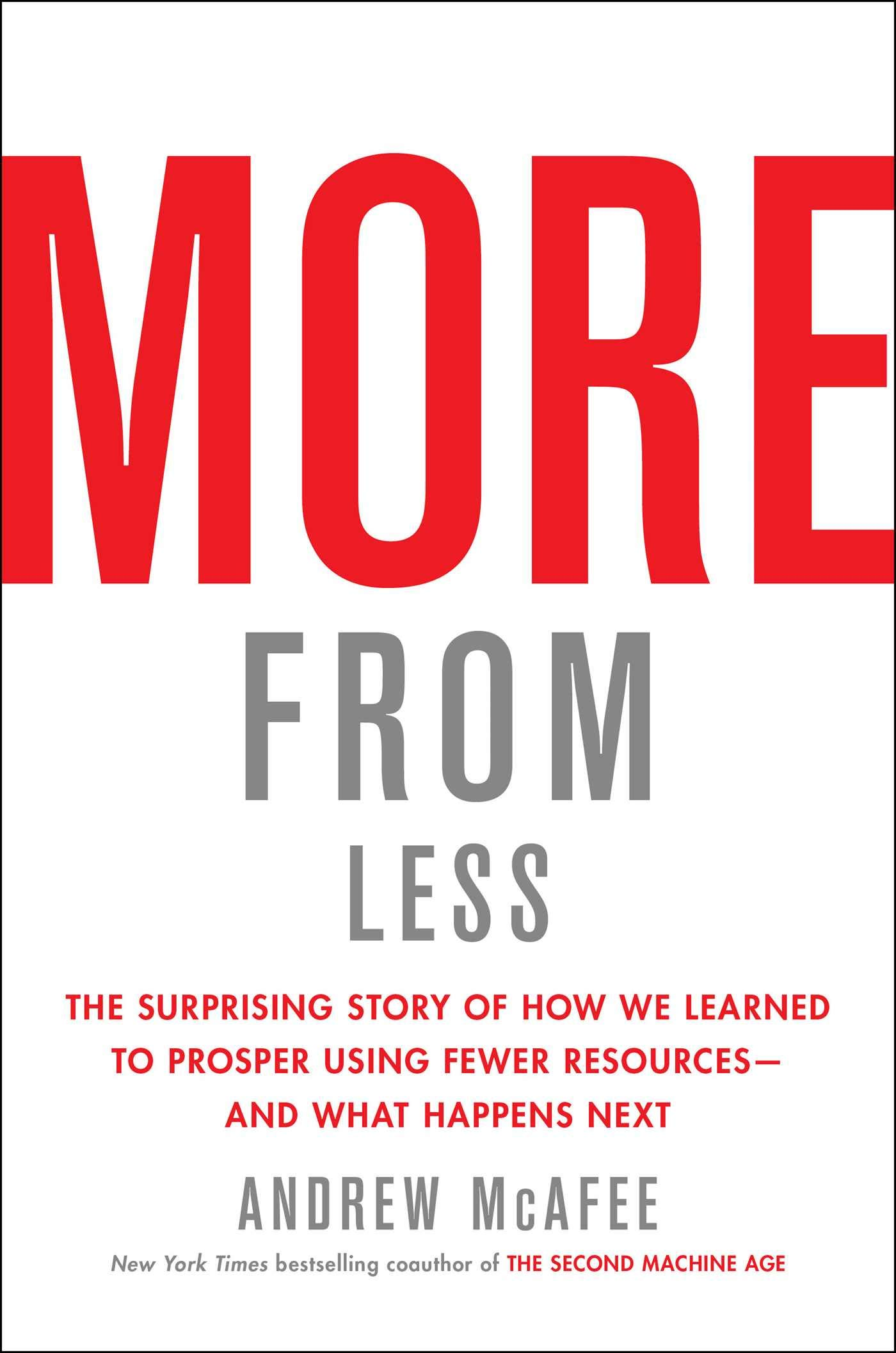 Book Cover of More from Less
