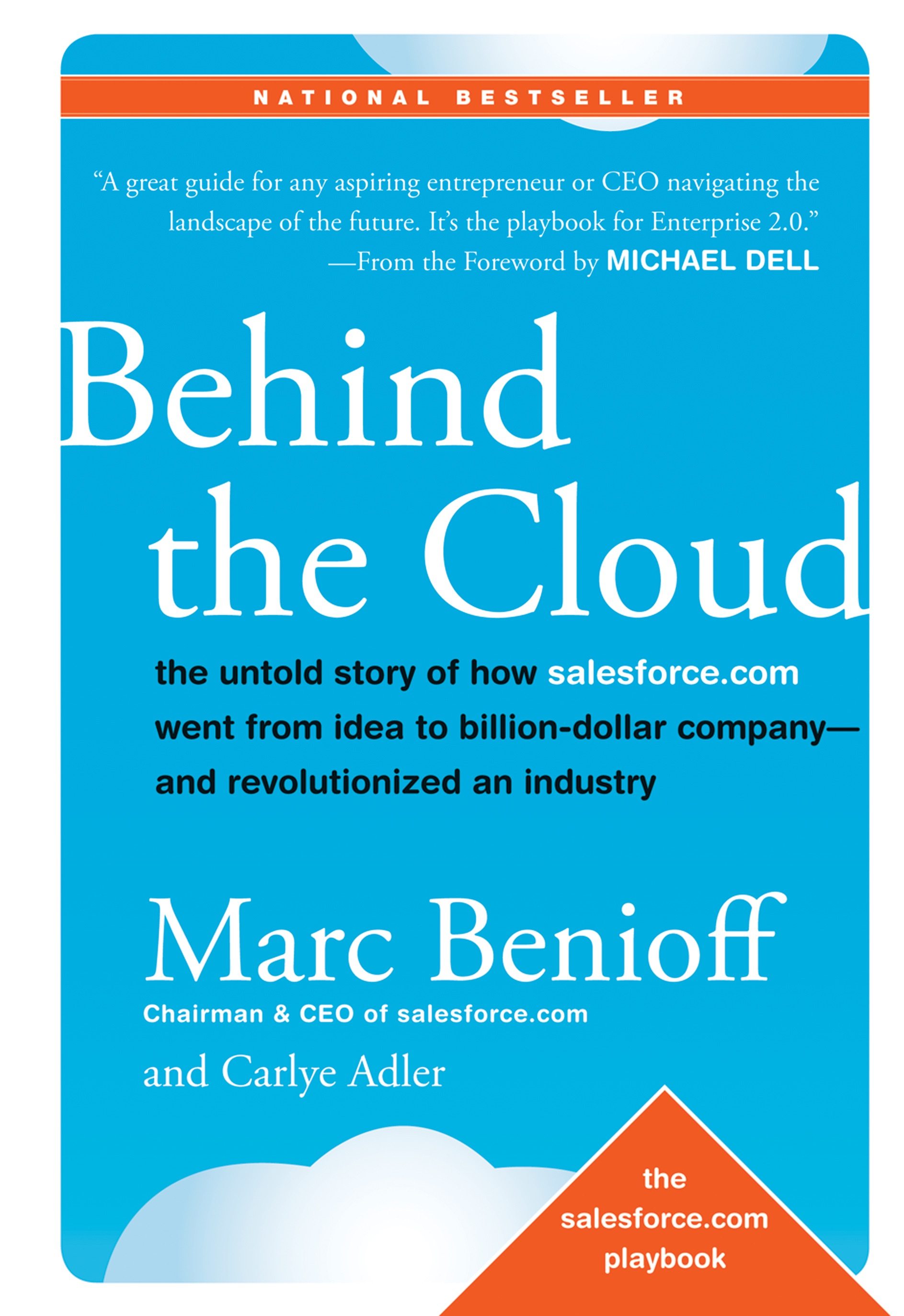 Book Cover of Behind the Cloud