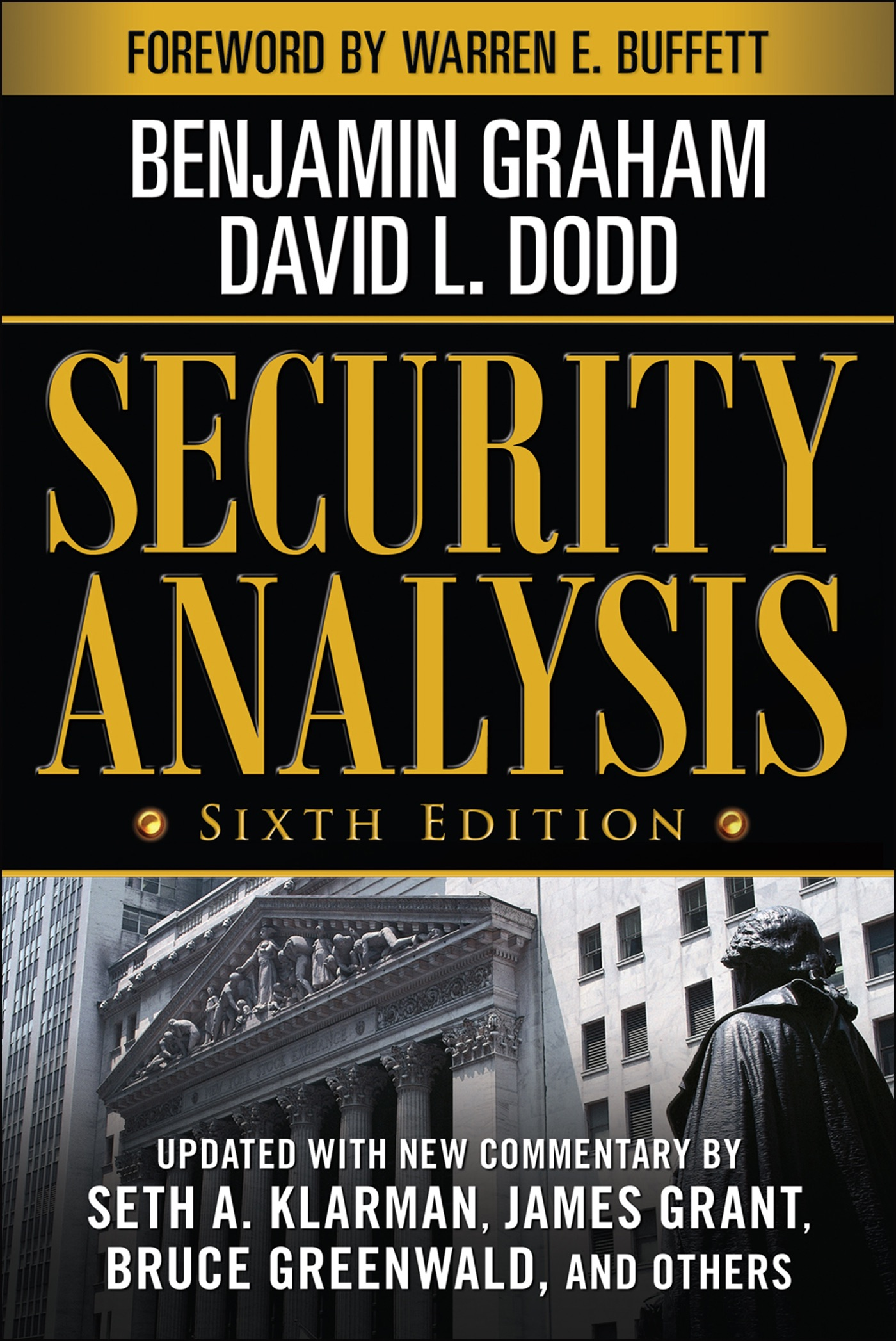 Book Cover of Security Analysis