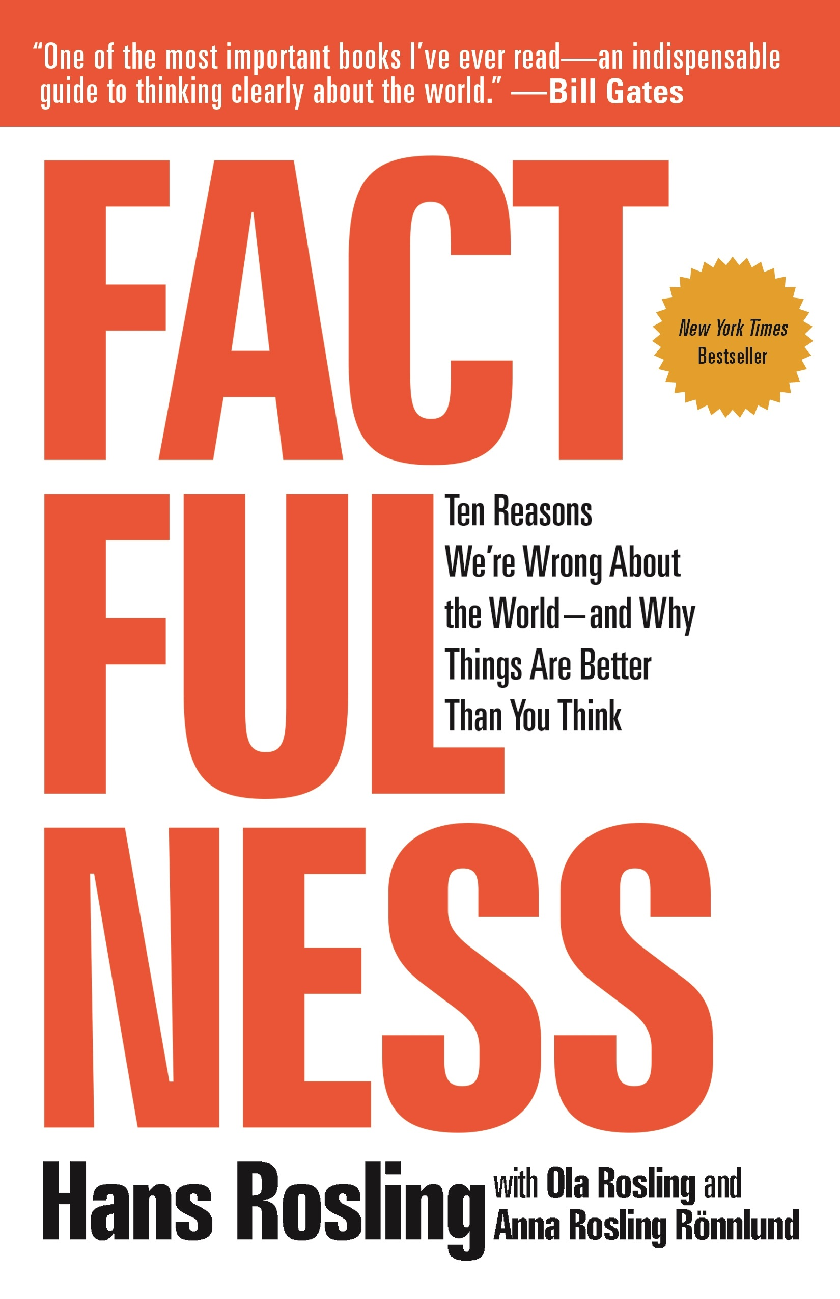 Book Cover of Factfulness