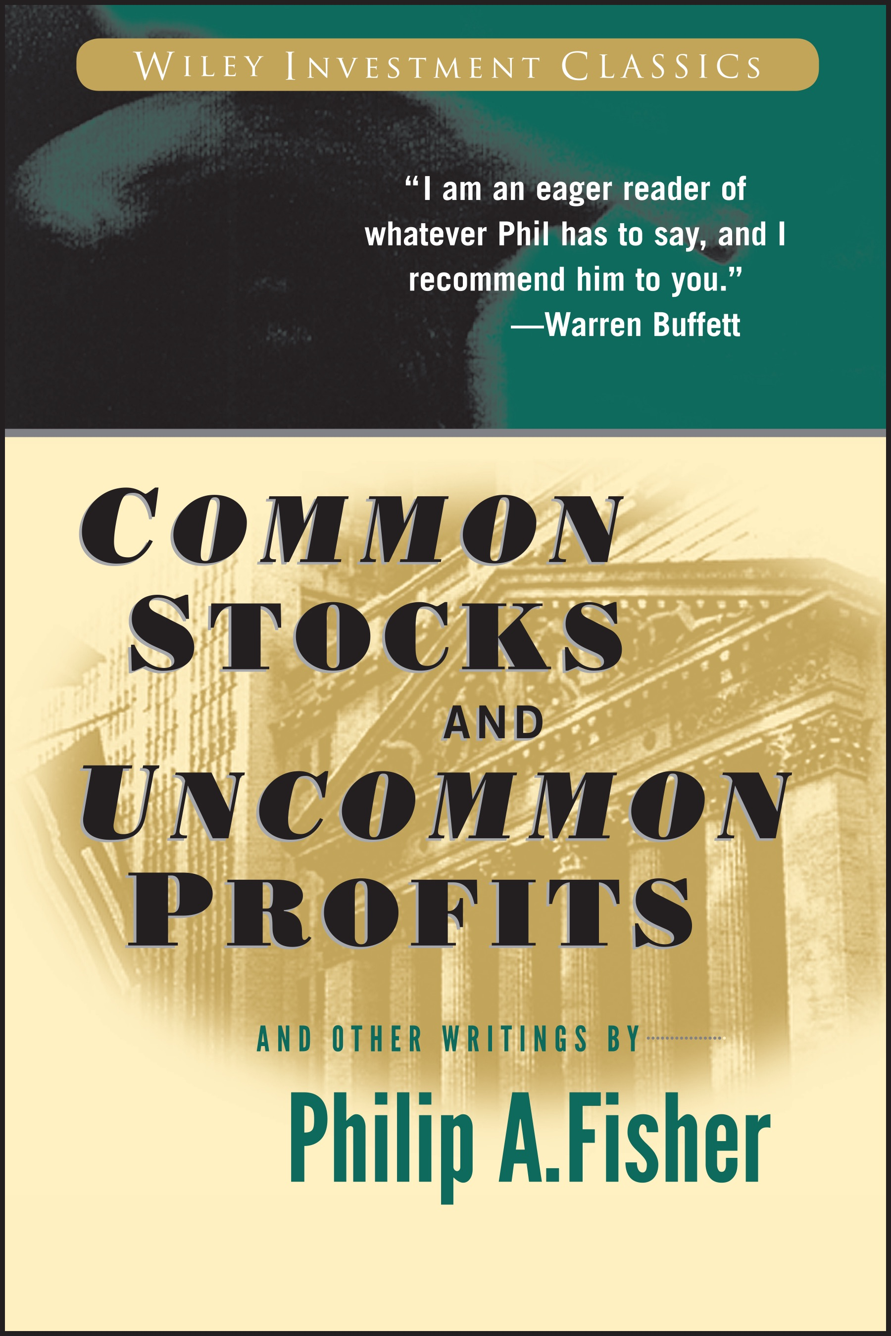Book Cover of Common Stocks and Uncommon Profits and Other Writings