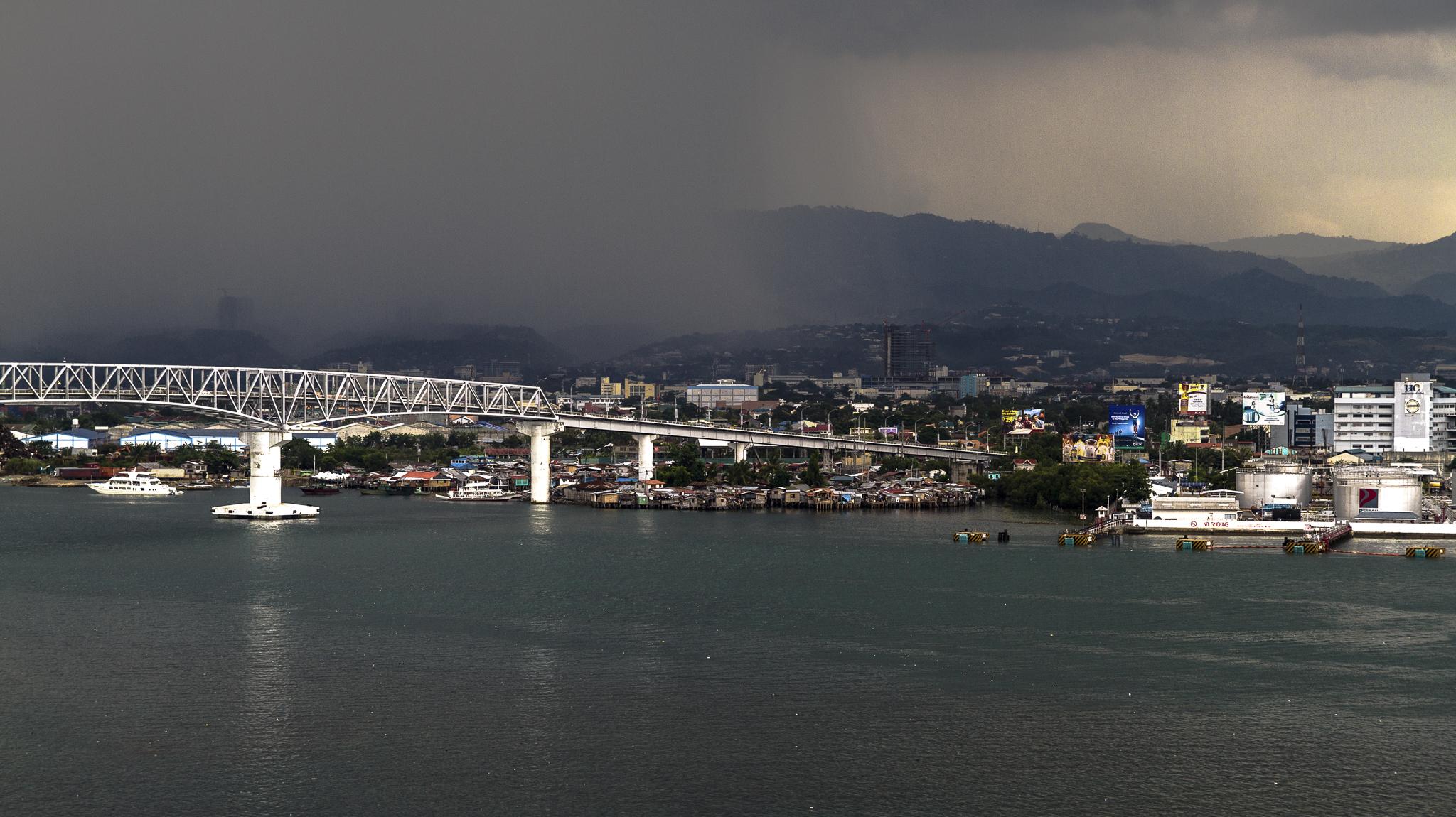 Storm in Cebu City - Cebu, Filipijnen, 2014