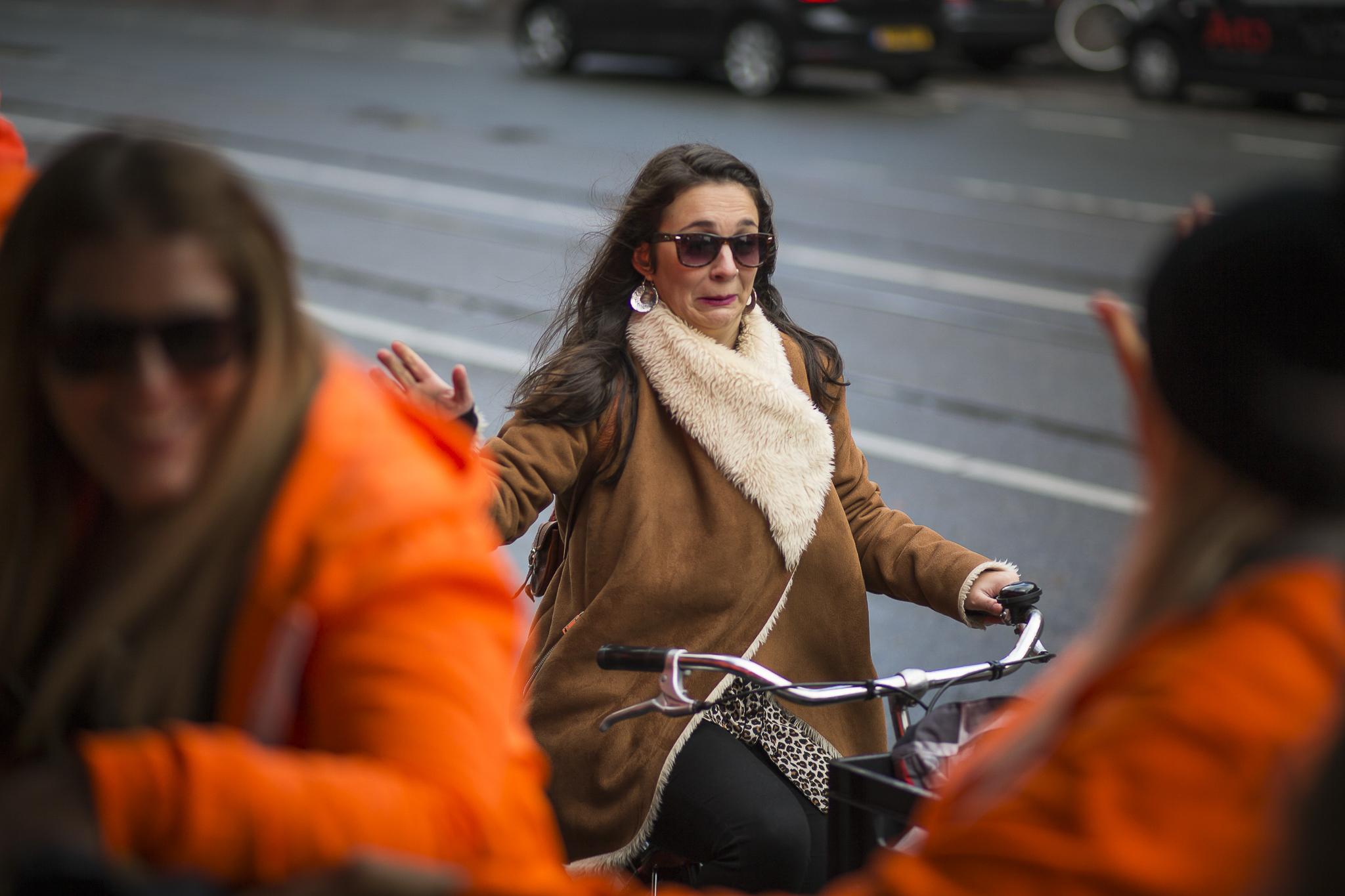Onbekende voorbijganger, Bierfietstour - Amsterdam, 2016