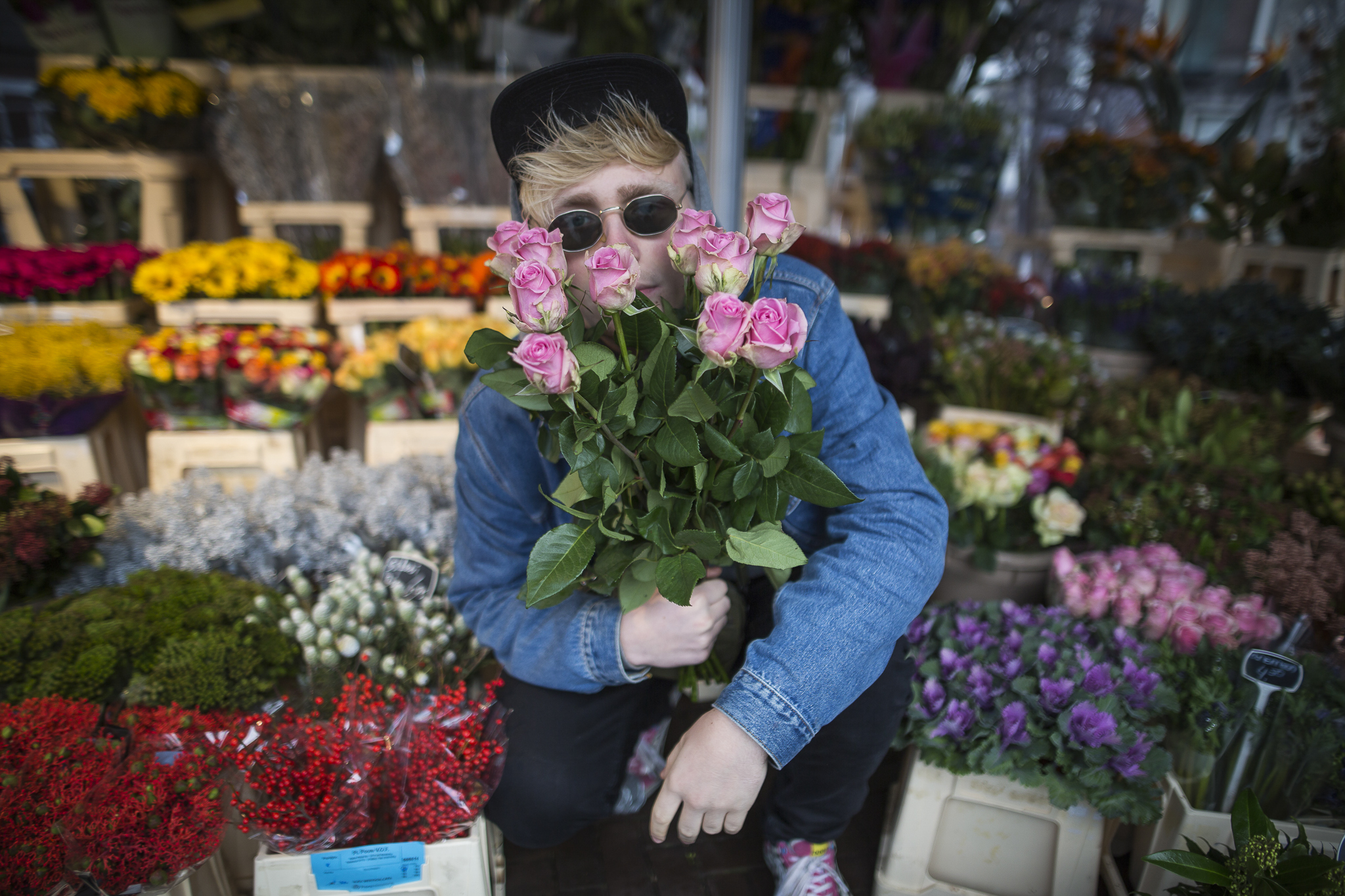 Één hoorn, tien rozen. Joost Klein - Amsterdam, 2016