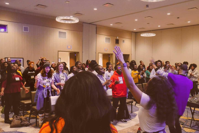 BCM large group worship