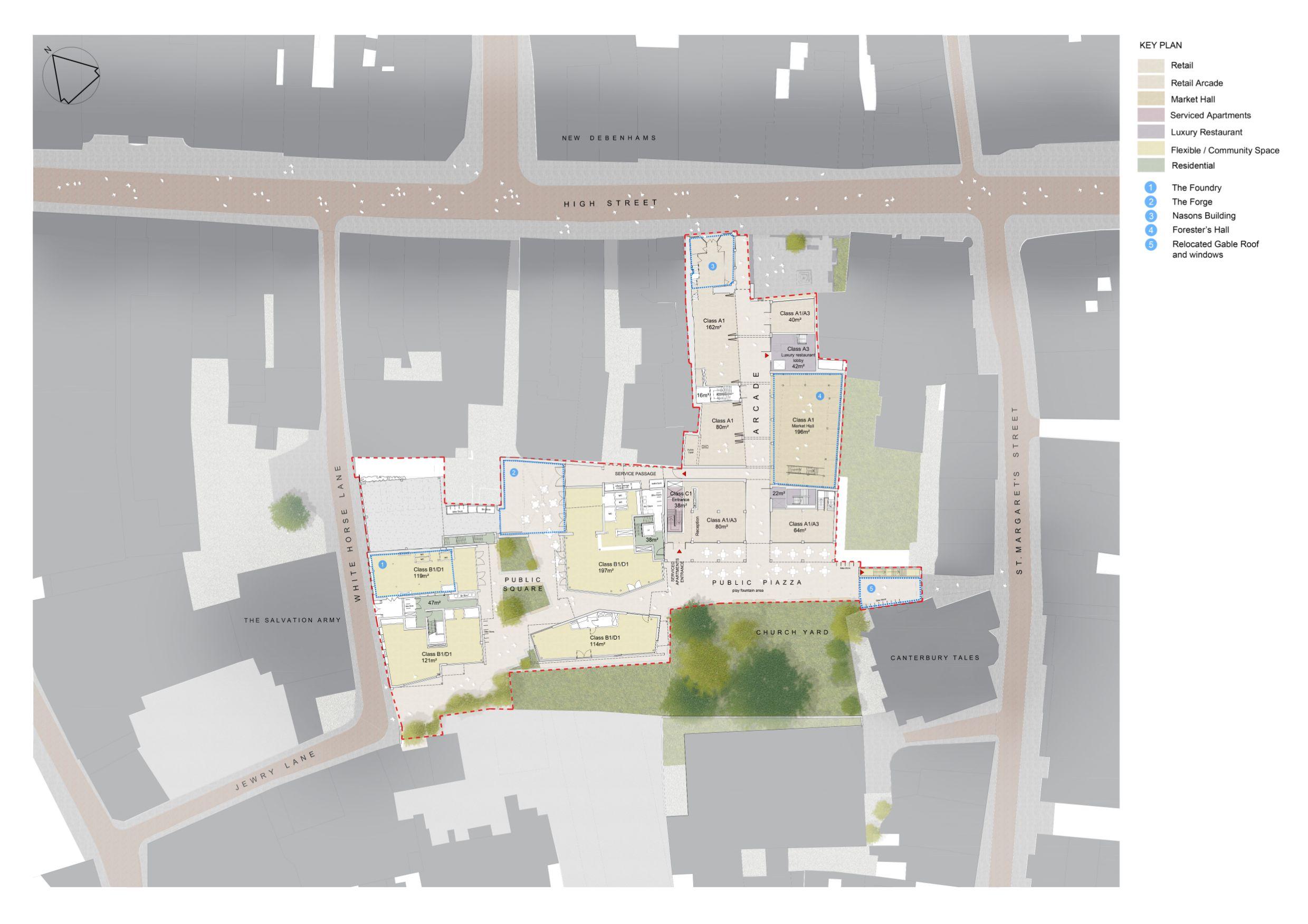 Biggleston Yard - master plan