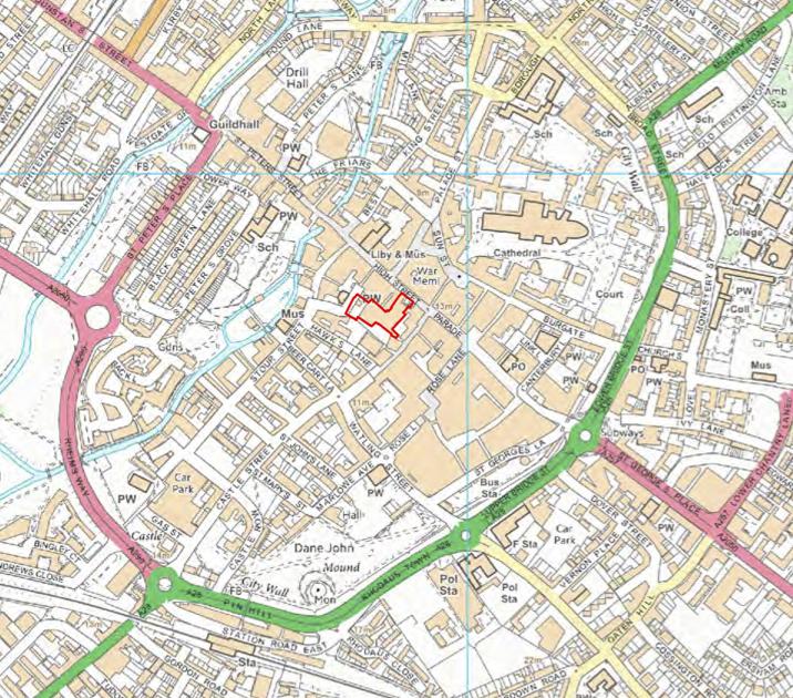 Biggleston Yard map