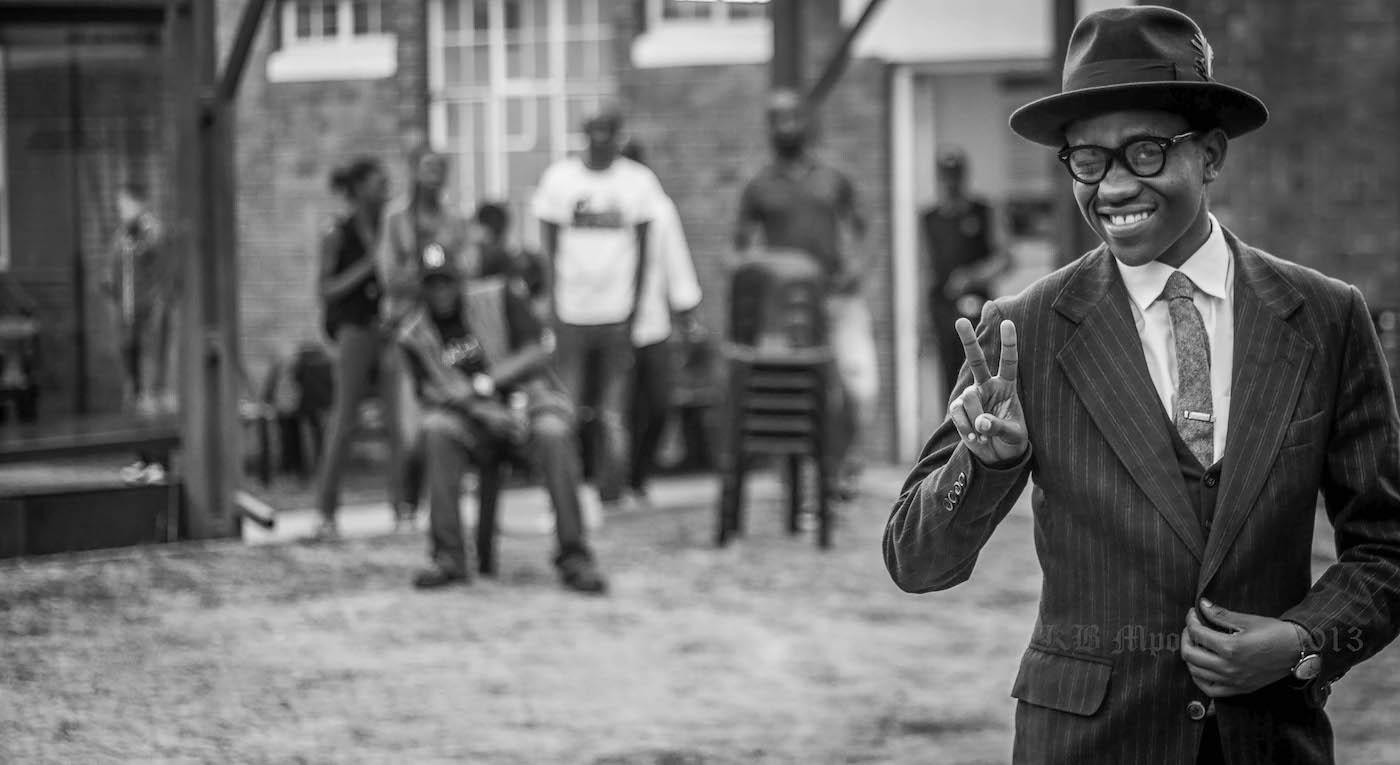 Funny man, photo by KB Mpofu