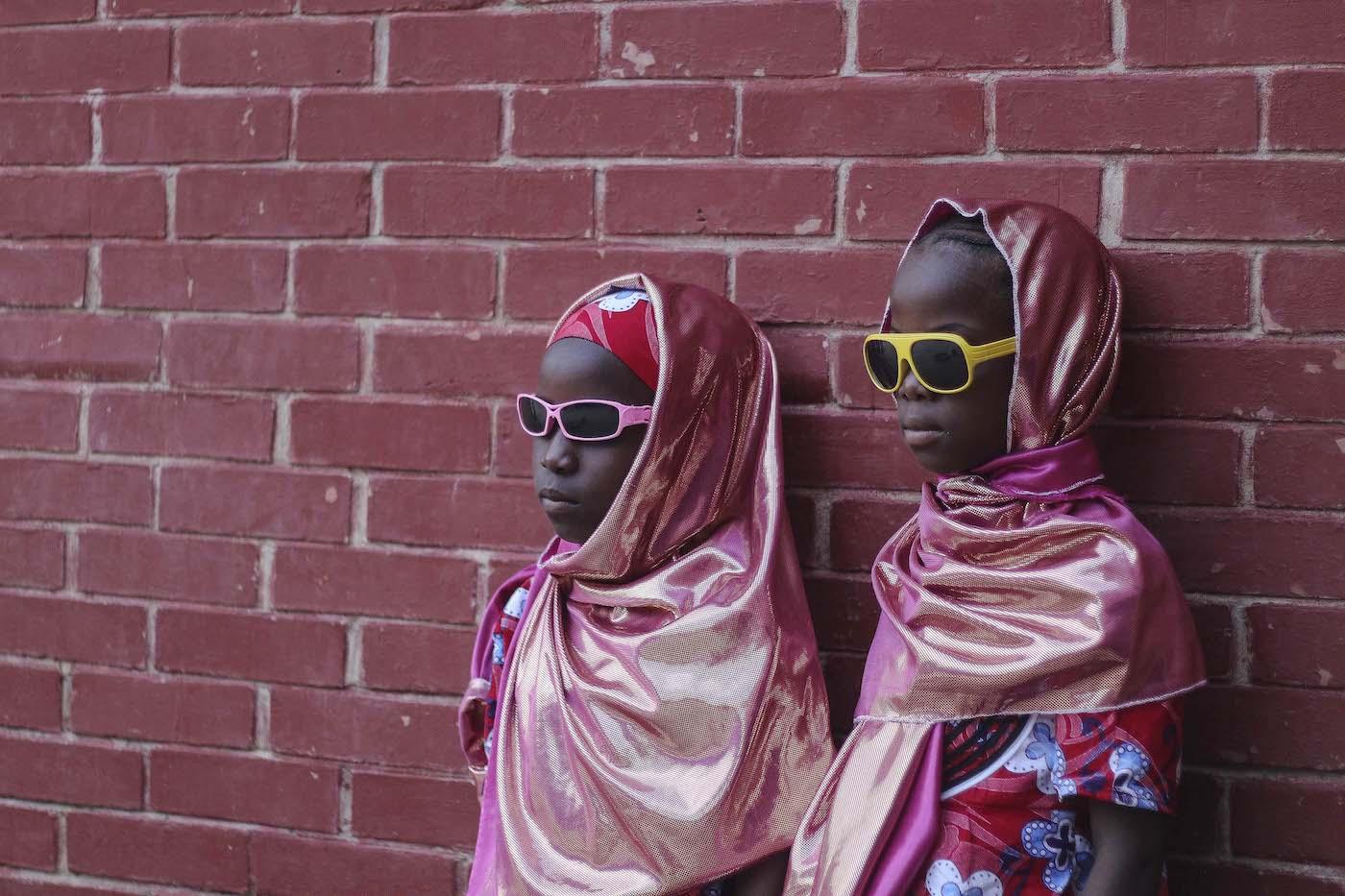 Girls with sunglasses, Photo by Fati Abubakar