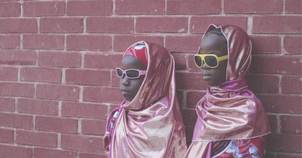 Fati Abubakar, girls with sunglasses