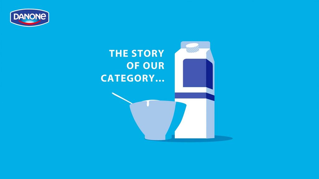 Danone yoghurt, The Story of our Category, Melkpak