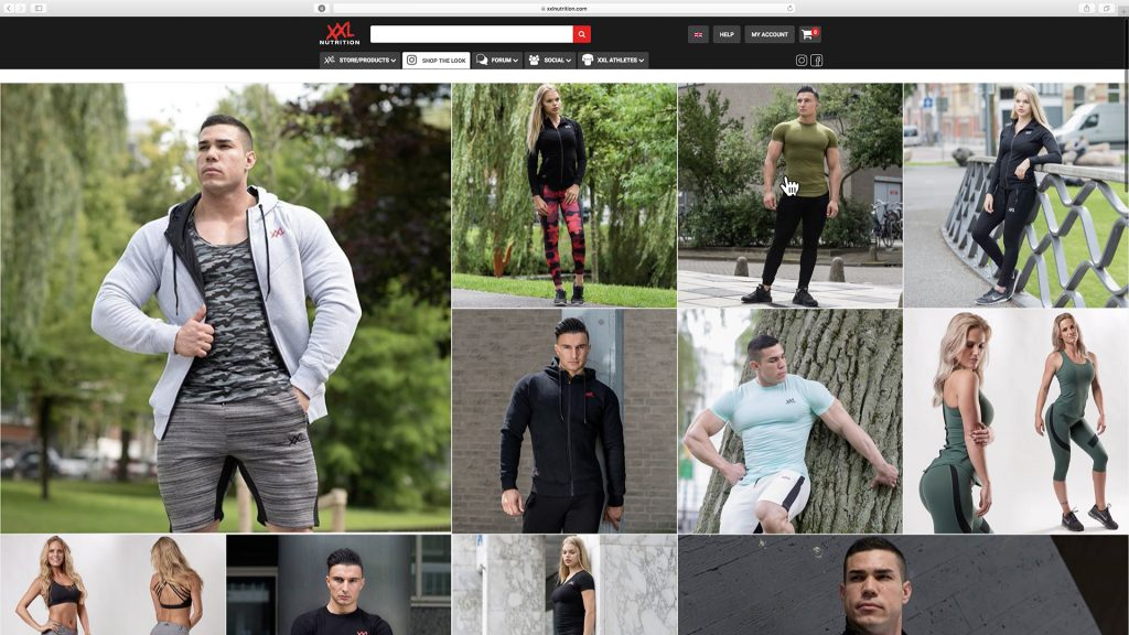 XXL Nutrition Shop the Look