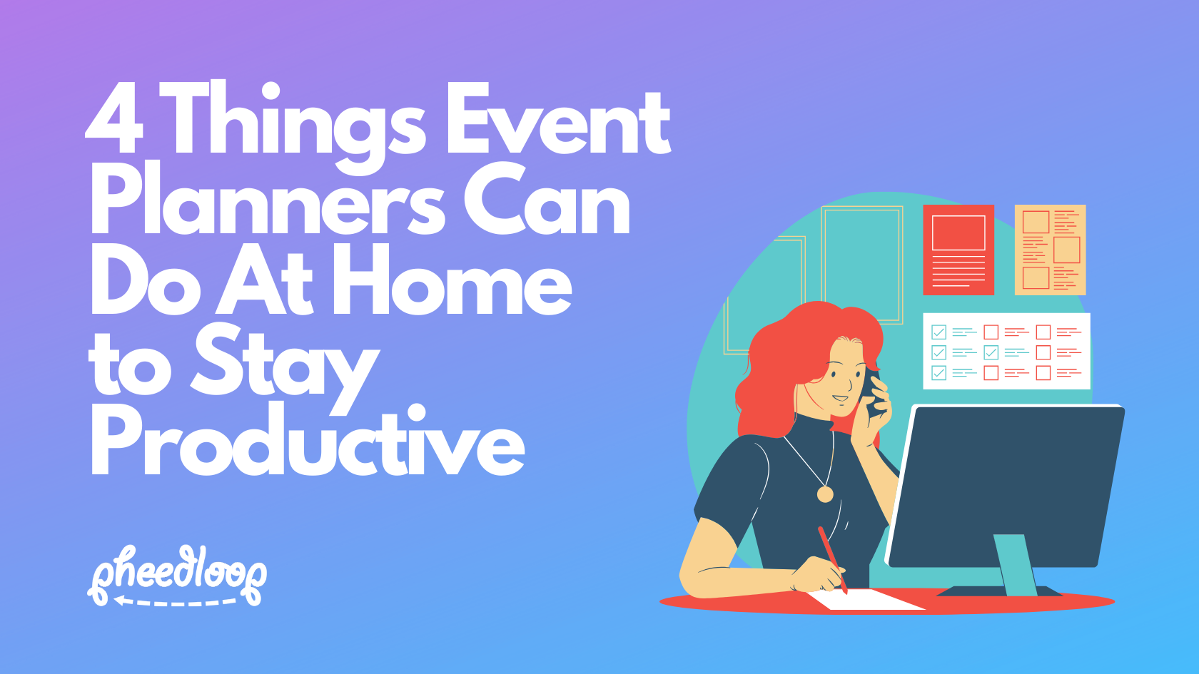 There's no denying it at this point, the global pandemic caused by the coronavirus will have long-term effects on the events industry. So if you're at home right now, what are some things you can do to level up, and make the most of this time? Here are 4 tips we have for you!