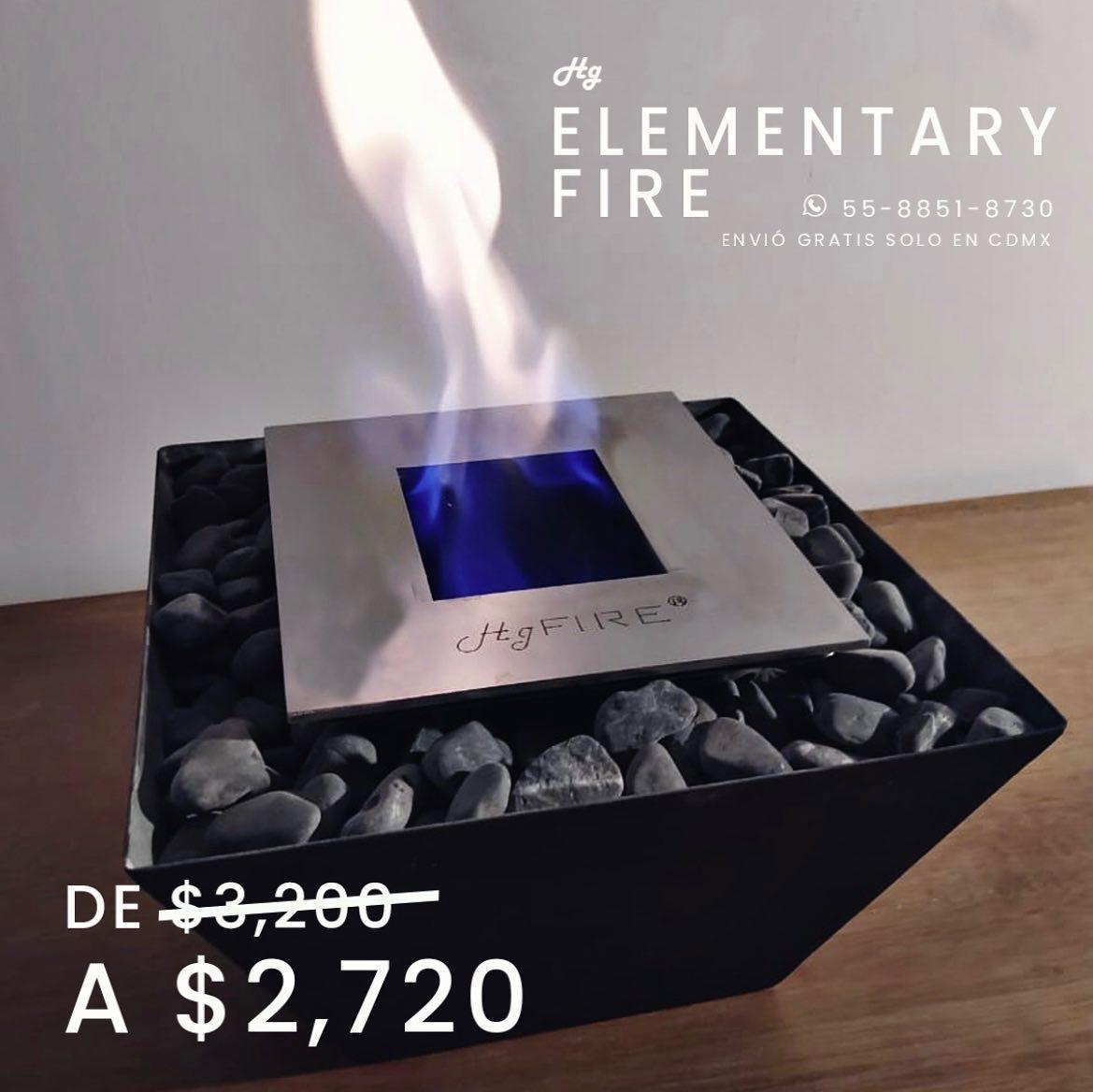 No pases más frío! 🥶  Te ofrecemos - 15% en nuestro modelo Elementary Fire, entrega inmediata en CDMX 🔥