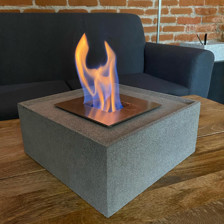 Nuevo modelo Volcanic Stone Fire (Redondo y cuadrado) #diseñamosconfuego