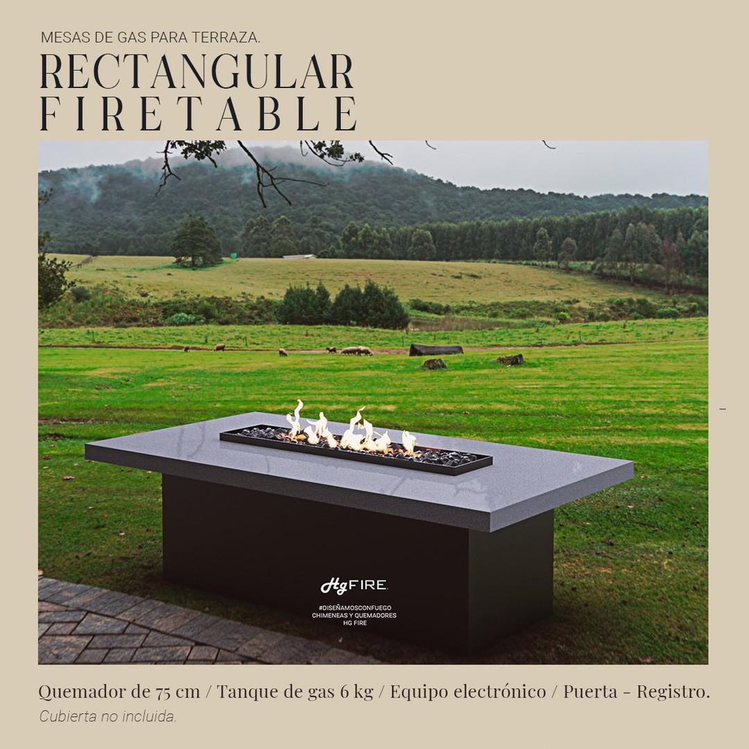 Firetables🔥 Las chimeneas perfectas para tu terraza. #diseñamosconfuego
