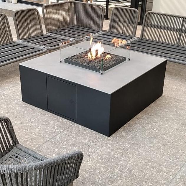 Square Firetable C/ set de cristales 🔥#diseñamosconfuego