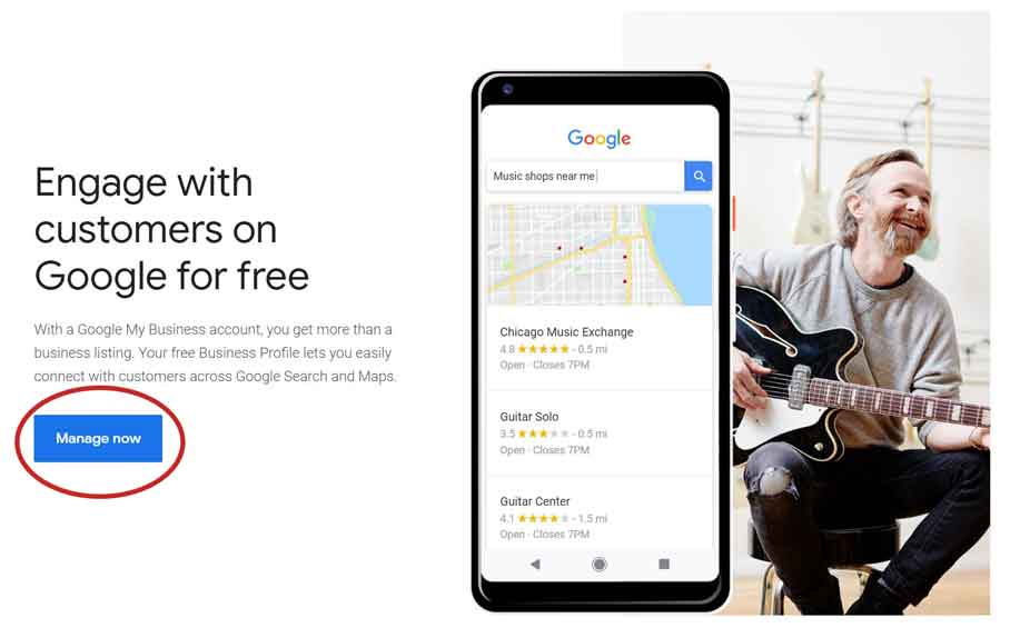 manage google my business listing