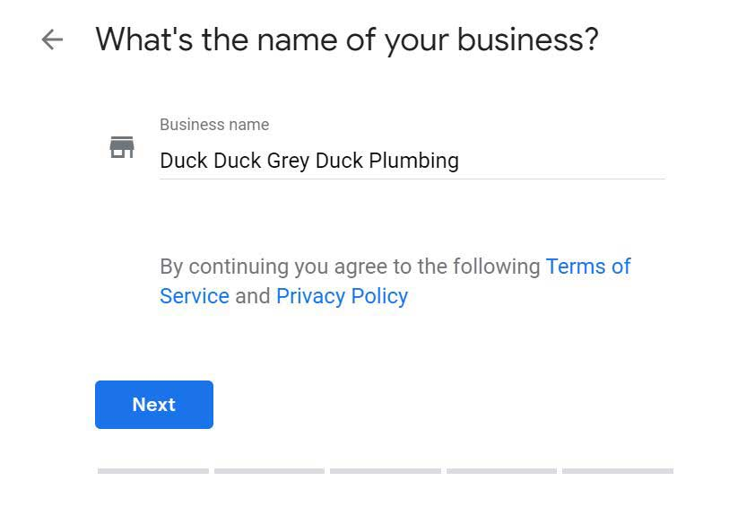what is the name of your business?