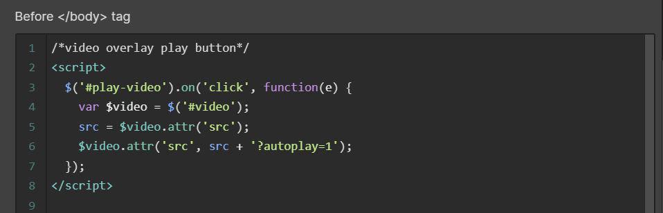 custom page code in webflow