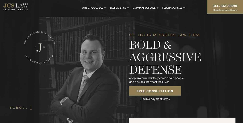best effective lead gen lawyer website 7