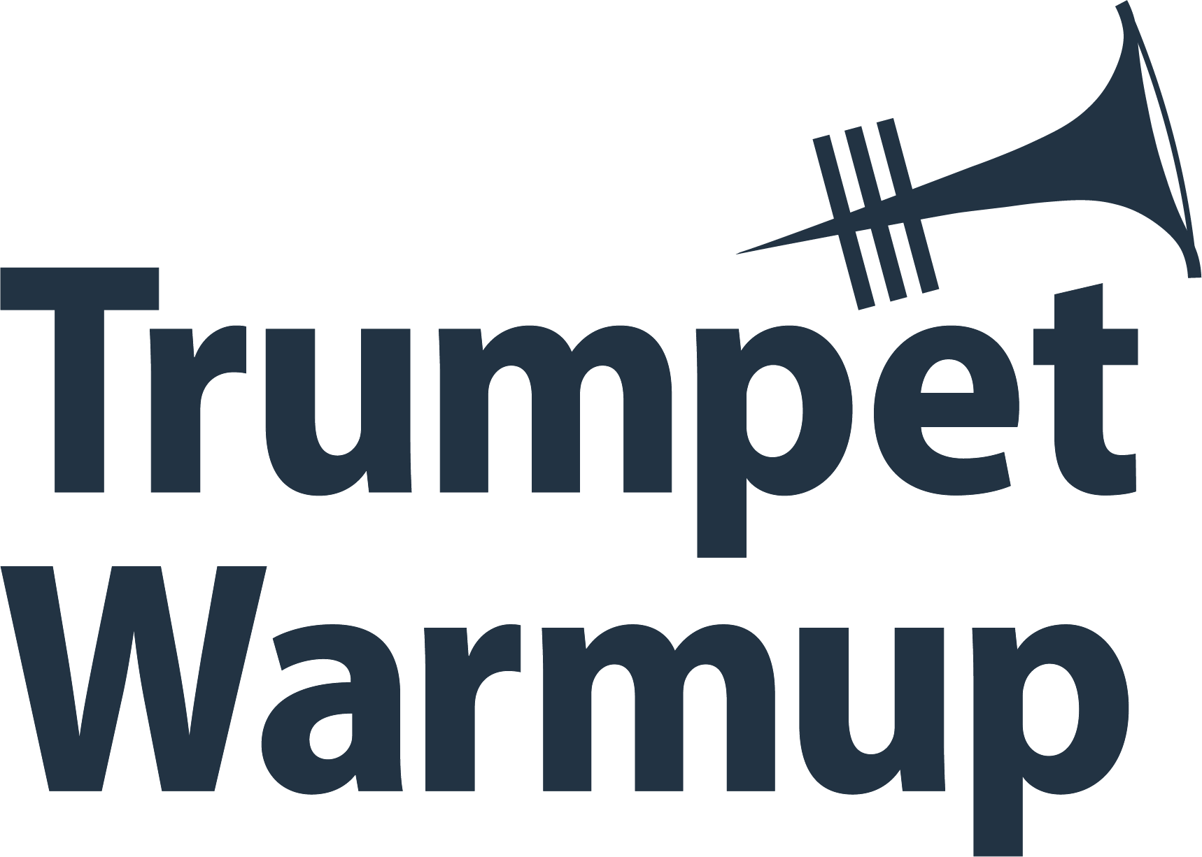 Trumpet Warmup Logo Main