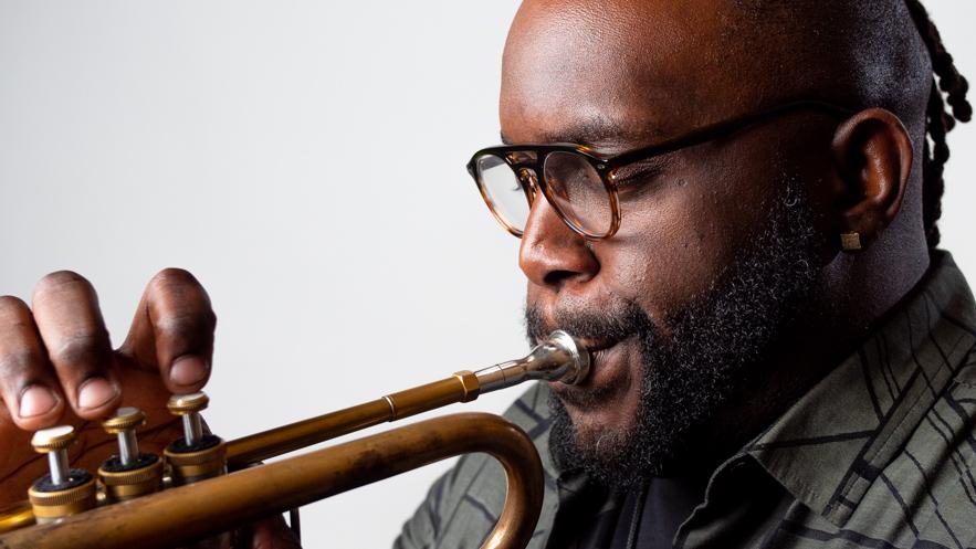 Trumpet Warmup Artist - Marquis Hill