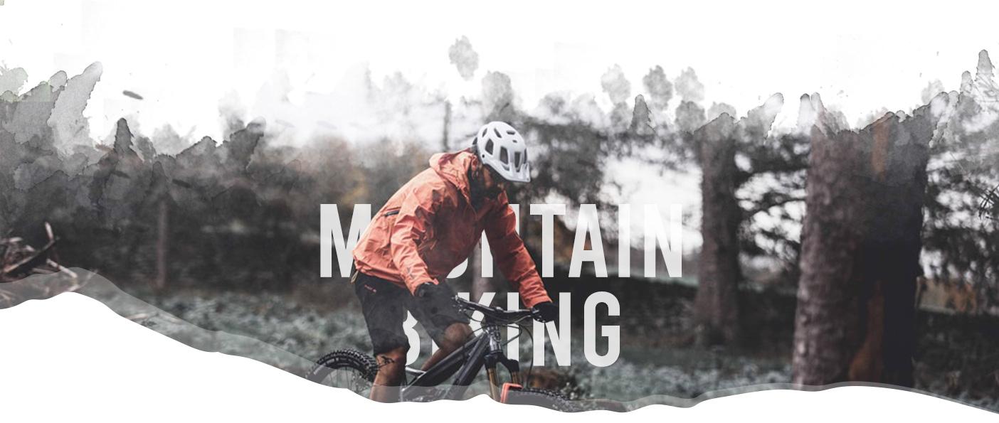 Mountain biking header image