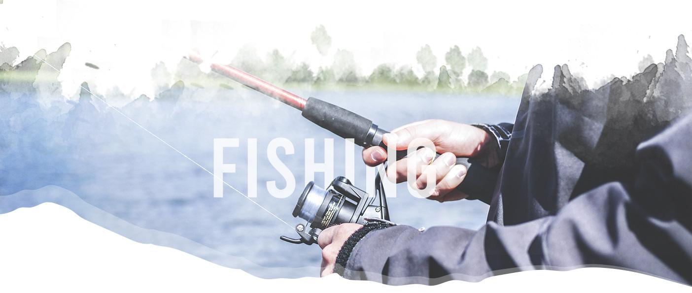 Fishing header image