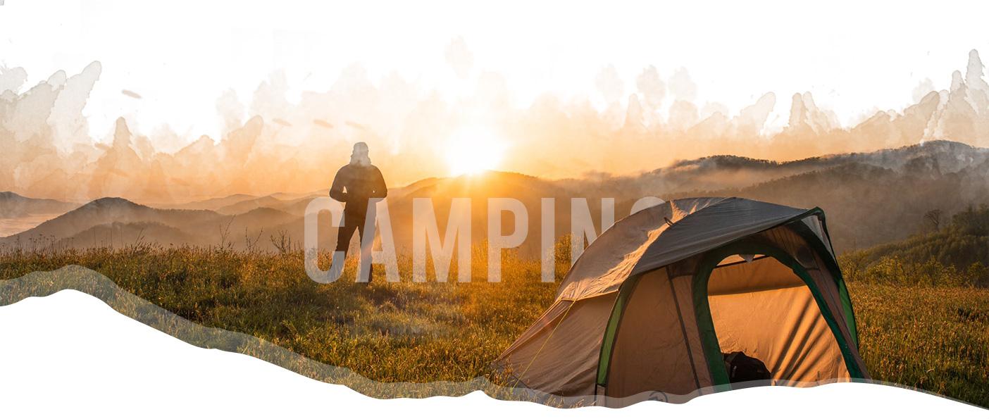Camping header image