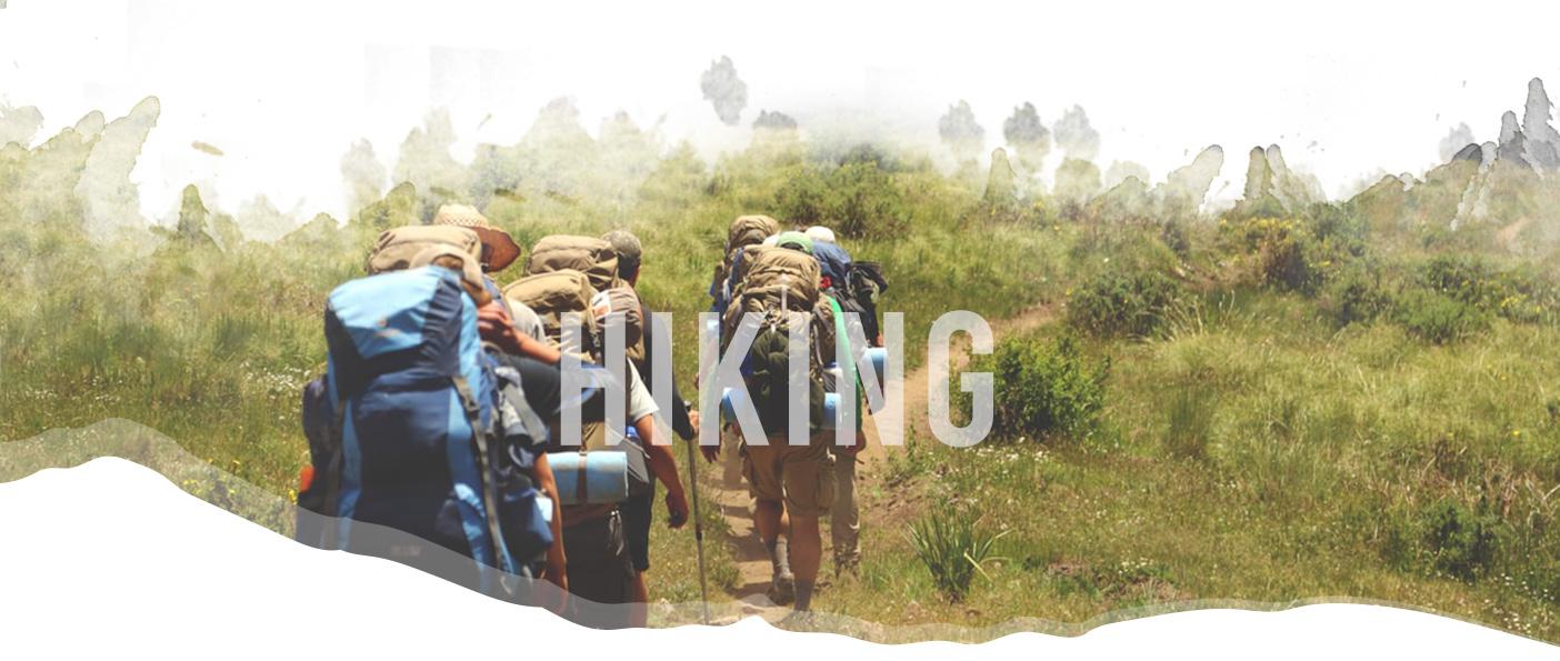 Hiking header image