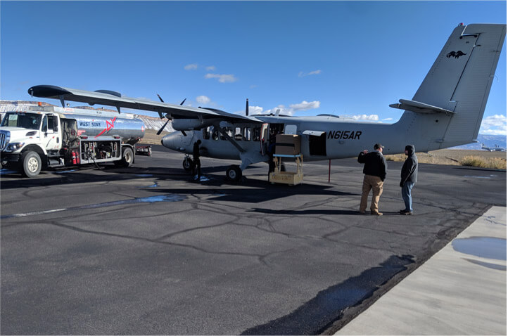 Twin Otter getting fuel for flight (NASA)