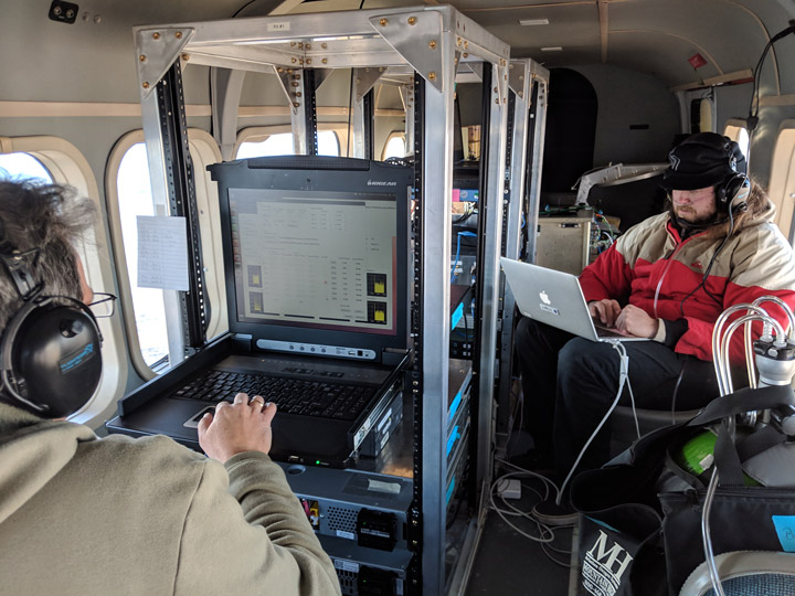 Setting up instrument parameters and monitoring radiometer measurements (NASA)