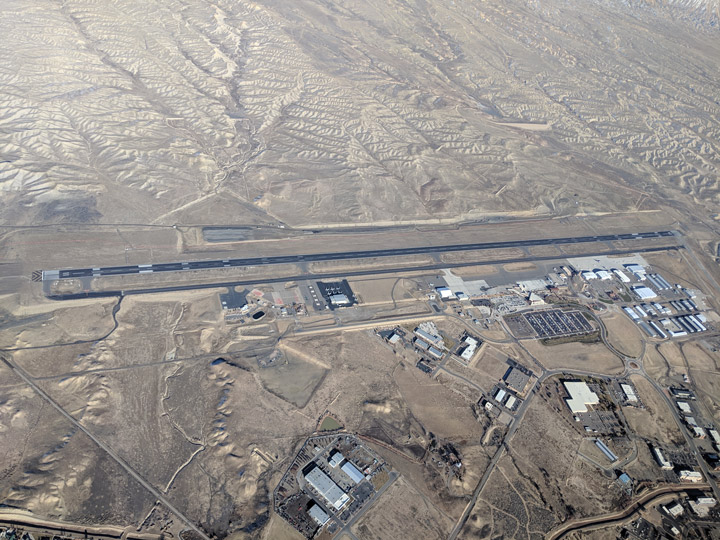 Grand Junction Airport from the air (NASA)