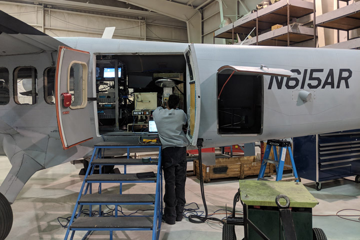 Completing Final Checks on SWESARR (NASA)