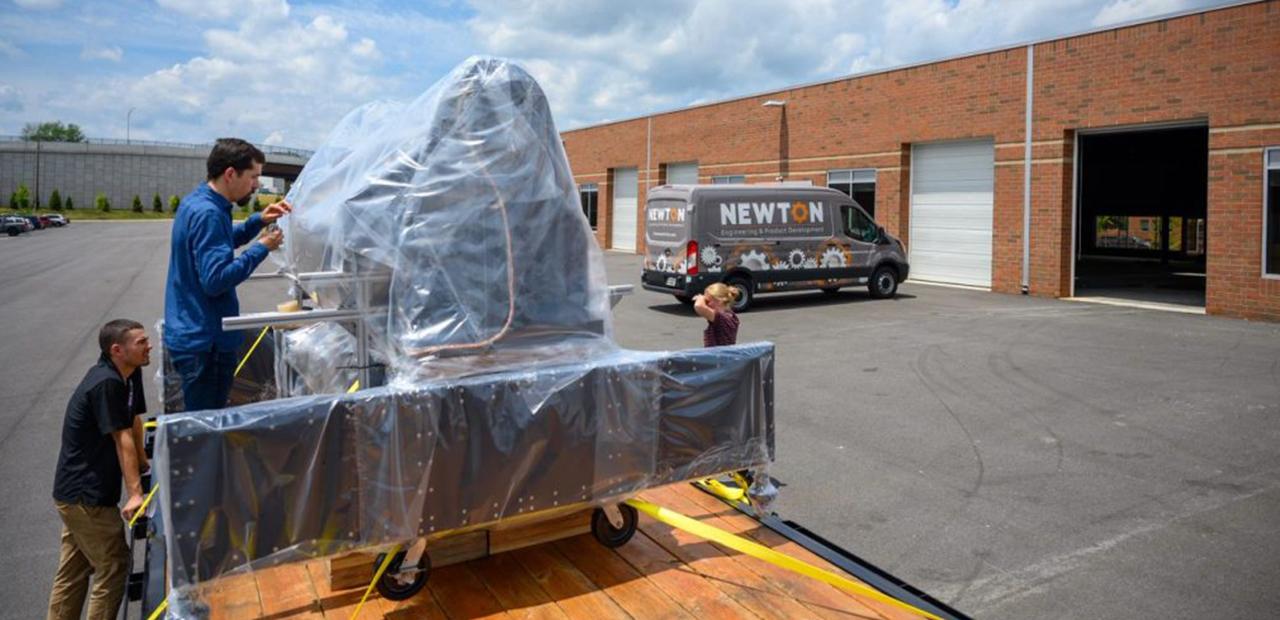 Newton Delivers GAToR to NASA GSFC