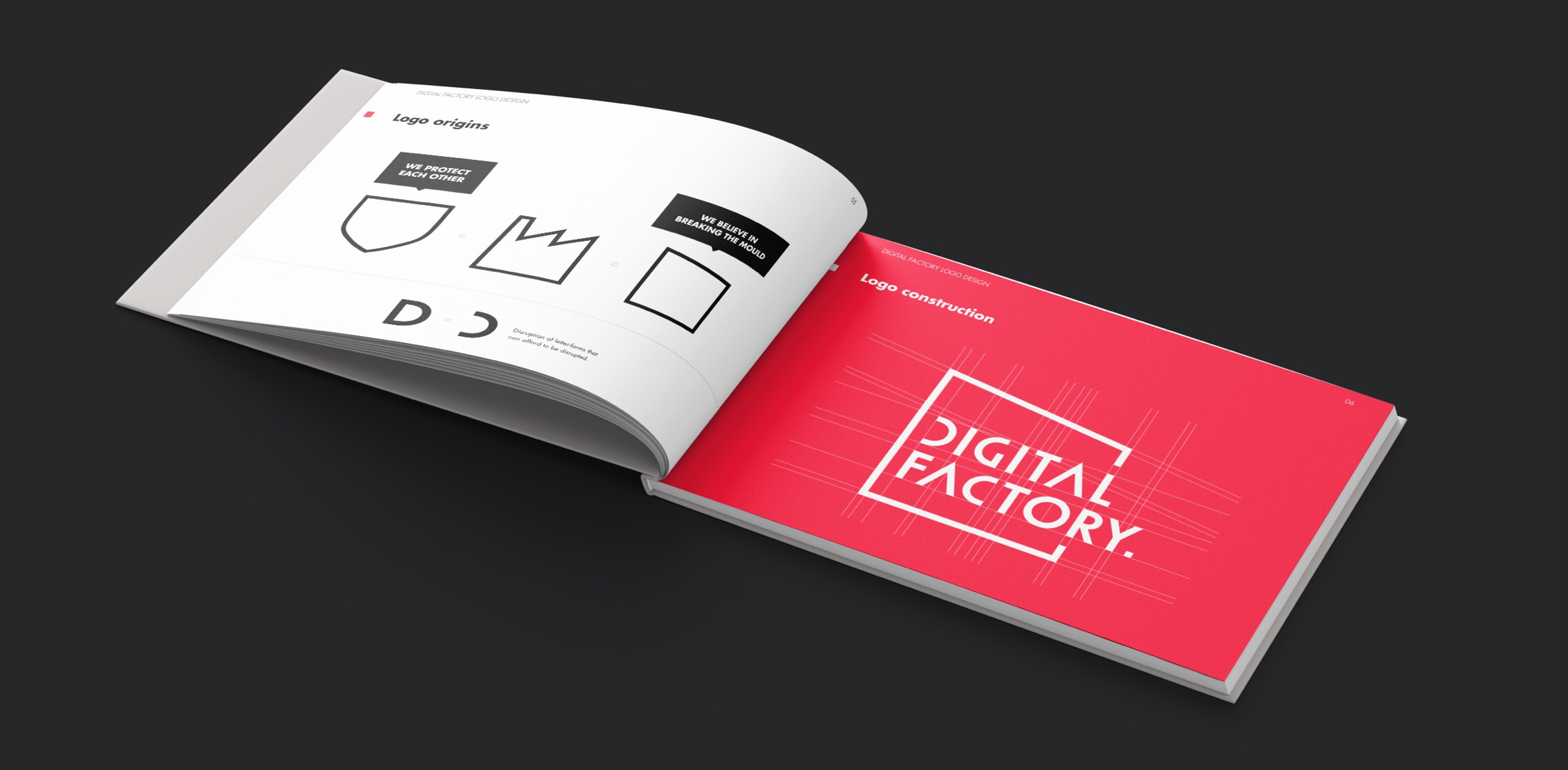 Digital Factory Logo Book