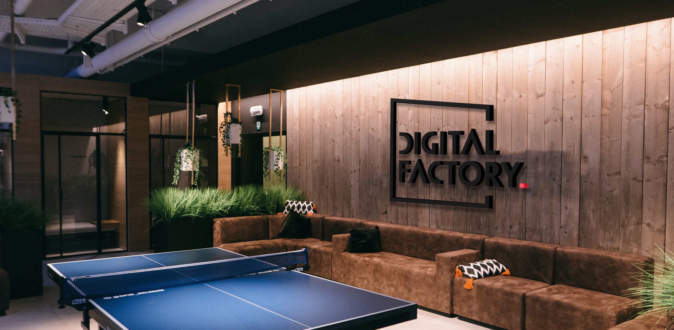 Digital Factory Office Mockup