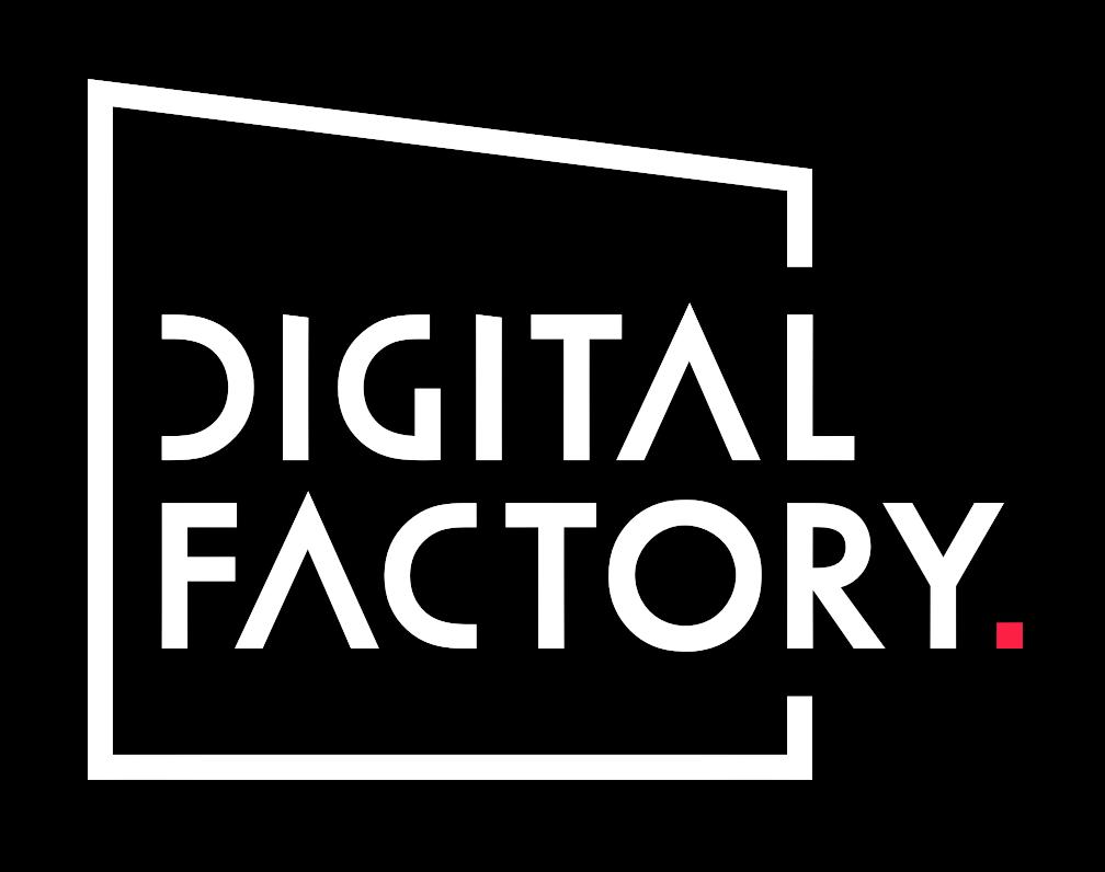 Digital Factory Logo White
