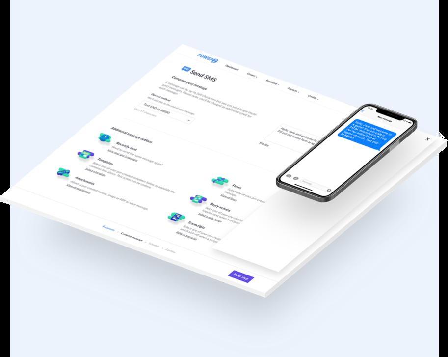 SMS platform by Power2